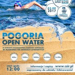 Pogoria Open Water to zawody pływackie dla dzieci, młodzieży i dorosłych (fot. mat. organizatora)