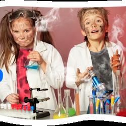 Na zajęciach w Twórczej Chatce dzieci będą też przeprowadzać eksperymenty (fot. materiały Twórcza Chatka)