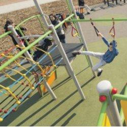 Młodzi mieszkańcy Tychów z pewnością chętnie przetestują kolejne parkowe atrakcje (fot. UM Tychy)