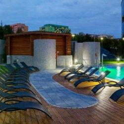 Na terenie parku wodnego powstanie kolejny basen zewnętrzny, powiększona zostanie sauna (fot. mat. Wodny Park Tychy)