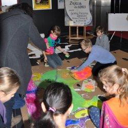 Po seansie dzieci mogą wziąć udział w ciekawych warsztatach (fot. mat. Planet Cinema)