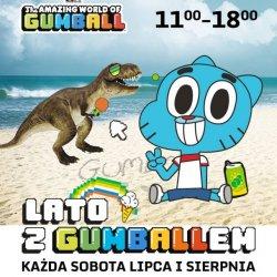 Gumball to bohater kreskówki, uwielbiany przez dzieci (fot. mat. organizatora)