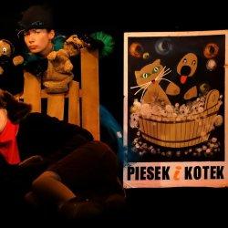 """Spektakl """"Pies i Kot"""" (fot. mat. WCK)"""