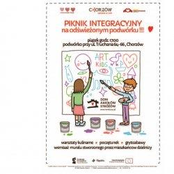 Piknik Integracyjny odbędzie się na podwórku przy ul. Truchana (fot. mat. prasowe)