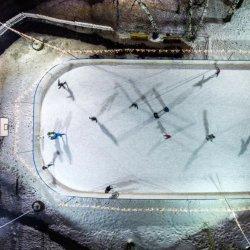 To ostatnia chwila by spędzić czas na odkrytym lodowisku (fot. mat. organizatora)