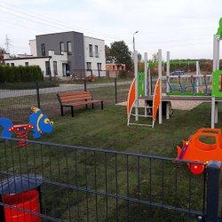 Nowy plac zabaw powstał na peryferiach Będzina (fot. mat. prasowe)