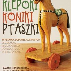 Wystawa ludowych zabawek w Jastrzębiu Zdroju potrwa do 15 kwietnia (fot. mat. organizatora)