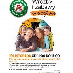 Andrzejkowe zabawy odbędą się w CH Auchan Gliwice 19 listopada (fot. mat. organizatora)