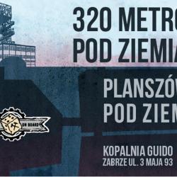 Planszówki 320 m pod ziemią to nie lada gratka dla fanów tego typu gier (fot. mat. oragnizatora)