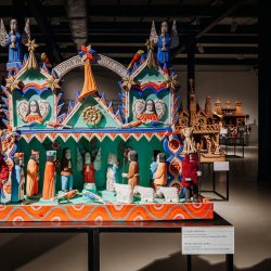 Szopki ze zbiorów Muzeum Śląskiego będzie można oglądać do 6 stycznia (fot. Katarzyna Esnekier/SilesiaDzieci)