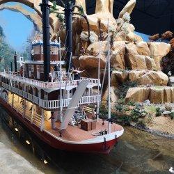 Zwiedzający wystawę zobaczą m.in. parowiec Western River pływający po rzece Missisipi (fot. mat. organizatora)