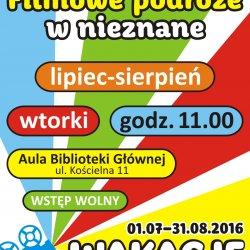 """""""Filmowe podróże w nieznane"""" to cykl wakacyjnych spotkań dla dzieci (fot. mat. organizatora)"""