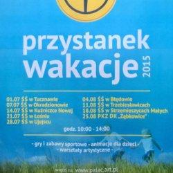 """""""Przystanek wakacje"""" to propozycja dla dzieci, które mieszkają z dala od centrum miasta (fot. mat. organizatora)"""