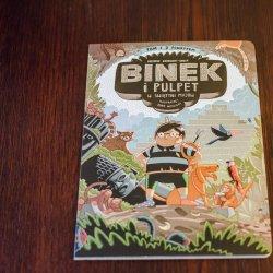 """""""Binek i Pulpet"""" to niezwykła książka od wydawnictwa Dwie Siostry (fot. Ewelina Zielińska)"""