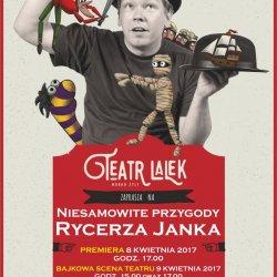 """""""Niesamowite przygody rycerza Janka!"""" to spektakl Teatru Lalek Marka Żyły (fot. mat. organizatora)"""