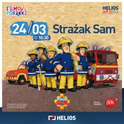 Strażak Sam to ulubiony bohater dzieci na całym świecie (fot. mat. organizatora)