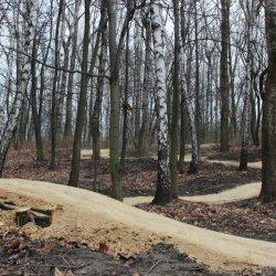 Nowa trasa rowerowa powstała w Parku Strzelnica w Rudzie Śląskiej-Bielszowicach (fot. mat. organizatora)