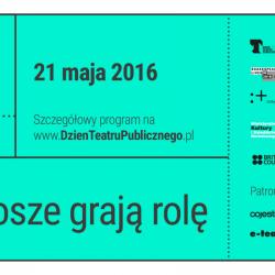 """""""Grosze grają rolę"""" to ogólnopolska akcja promująca działalność teatrów publicznych (fot. mat. organizatora)"""