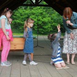 Organizatorzy pikniku zadbali o różnorodne atrakcje dla najmłodszych (fot. mat. organizatora)