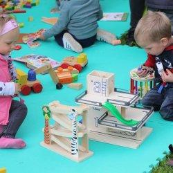 W Śląskim Ogrodzie Botanicznym zaplanowano wiele ekologicznych zabaw dla najmłodszych (fot. archiwum zdjęć na  FB ŚOB)