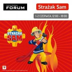 Na spotkanie ze Strażakiem Samem będzie można spotkać się 1 i 2 czerwca (fot. mat. Forum)