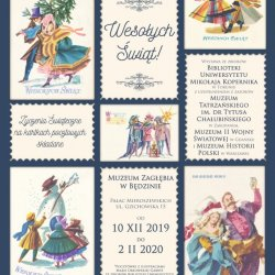Wystawa to 500 kartek świątecznych z różnych epok (fot. mat. organizatora)