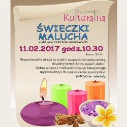 Na warsztatach w Piaskownicy Kulturalnej dzieci wykonają świeczki według własnych projektów (fot. foter.com)