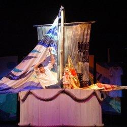 """""""Tomcio Paluch"""" to spektakl dedykowany dzieciom od lat 3 (fot. mat. Teatr Banialuka)"""