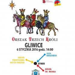 6 stycznia przez Gliwice przejdzie Orszak Trzech Króli (fot. mat. organizatora)