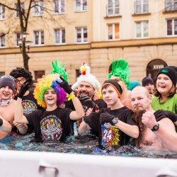 Jedną z atrakcji będzie kąpiel morsów w specjalnie rozstawionym basenie (fot. mat. FB 28 Tyski Finał WOŚP)