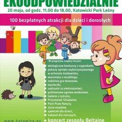 """""""Ekoodpowiedzialnie"""" to ponad 100 bezpłatnych atrakcji dedykowanych rodzinom (fot. mat. organizatora)"""