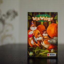 """""""Wiewióry"""" to ciekawa gra rodzinna od wydawnictwa REBEL (fot. Ewelina Zielińska)"""