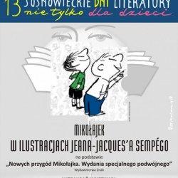 """W maju i w czerwcu w MBP w Sosnowcu można zwiedzać wystawę """"Mikołajek w ilustracjach Jeana-Jacques'a Sempégo"""" (fot. mat. organizatora)"""