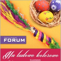 Centrum Handlowe Forum zaprasza na palmowy weekend wielkanocny (fot. mat. organizatora)