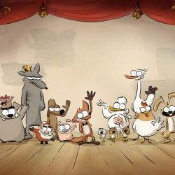 """Cykl """"Rodzina w kinie"""" zainauguruje film pt. """"""""Wielki zły lis i inne opowieści"""" - animacja nagrodzona Cezarem (fot. mat. organizatora)"""