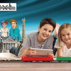 Zabawa własnoręcznie złożonymi modelami pojazdów daje dużą satysfakcję (fot. mat. organizatora)