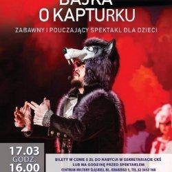 Gościnnie w CKŚ wystąpi krakowski Teatr Kultureska (fot. mat. organizatora)