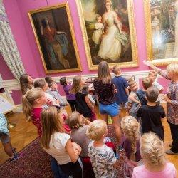 Każdego dnia dzieciaki będą mogły zwiedzić Zamek (fot. mat. Fb Muzeum Zamkowe w Pszczynie)