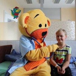 Zdrowuś będzie towarzyszył małym pacjentom GCZD na co dzień (fot. mat. prasowe)
