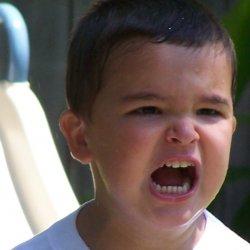 Złość to może być próba manipulowania rodzicami (fot.sxc.hu)