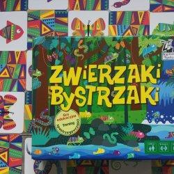 """""""Zwierzaki Bystrzaki"""" to gra edukacyjna (fot. Ewelina Zielińska/SilesiaDzieci.pl)"""
