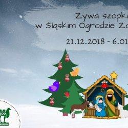 Żywą szopkę w śląskim zoo będzie można odwiedzać od 21 grudnia do 6 stycznia (fot. mat. oragnizatora)