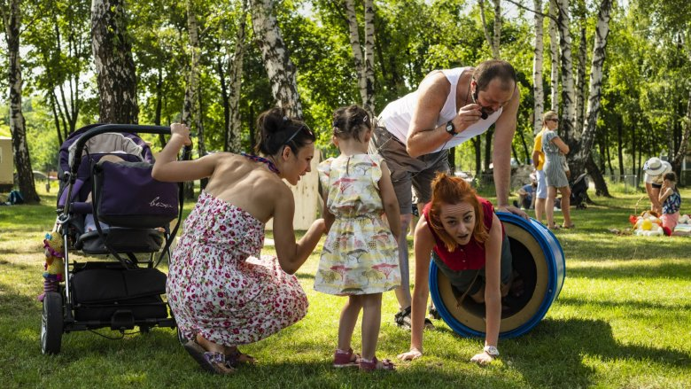 10 czerwca w Dąbrowie Górniczej odbył się Pałacowy Piknik Rodzinny (fot. Marek Wesołowski PKZ)