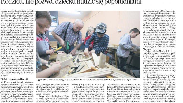 Dodatek specjalny do Gazety Wyborczej z 3 października 2014 r.