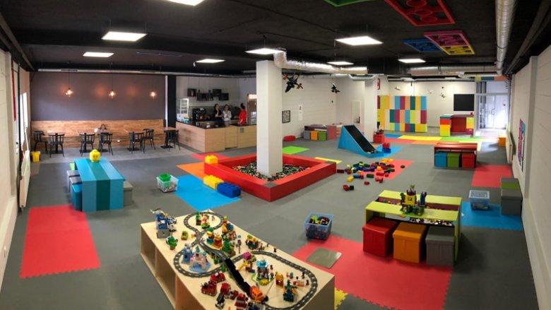 Centrum Zabaw 1000 klocków mieści się na Osiedlu Tysiąclecia w Katowicach (fot. mat. organizatora)