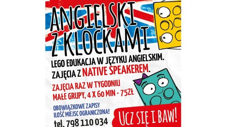 Zajęcia z języka angielskiego skierowane są do dzieci od 5. roku życia (fot. mat. organizatora)