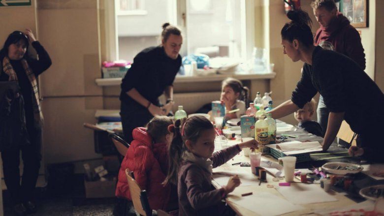Organizatorzy dbają by dzieci miały frajdę z każdej wizyty na Przystanku (fot. FB Przystanek Śniadanie)