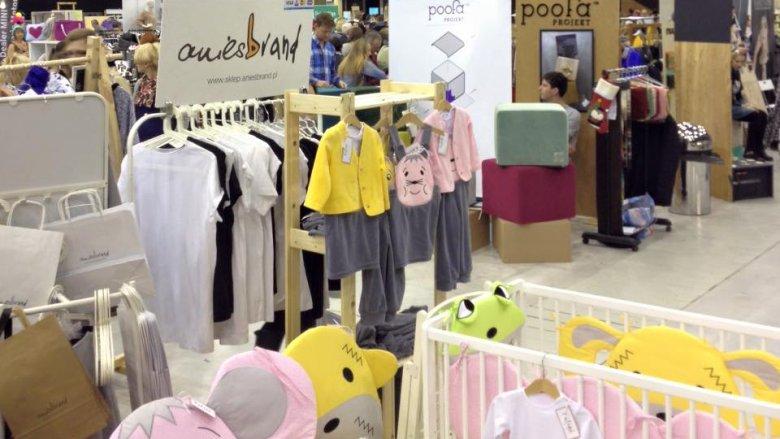 Produkty dla dzieci były prezentowane przez wiele małych polskich firm (fot. mat. FB Silesia Bazaar)