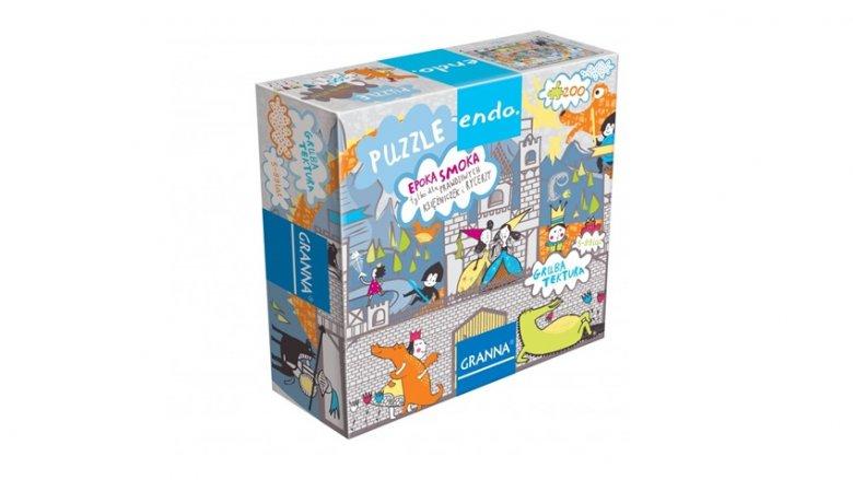 W puli nagród znalazły się też puzzle wydawnictwa Granna (fot. mat. wydawnictwa)