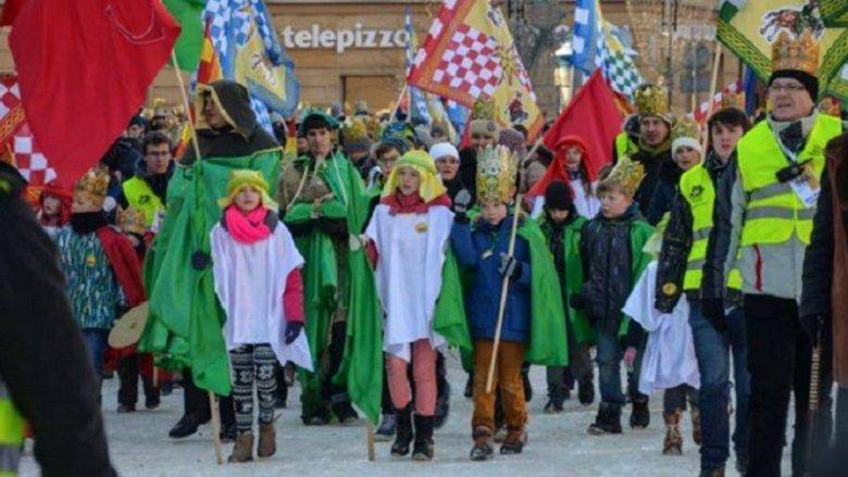 To już piąty Orszak Trzech Króli, który przejdzie ulicami Tychów (fot. FB Orszak Trzech Króli w Tychach)